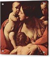 Charity 1607 Acrylic Print