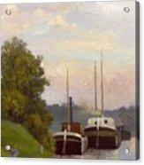 Charlands Sur La Seine 1885 Acrylic Print