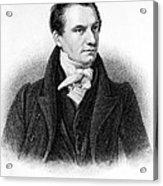 Charles Babbage, English Computer Acrylic Print