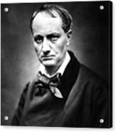 Charles Baudelaire Acrylic Print