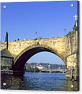 Charles Bridge, Prague Acrylic Print