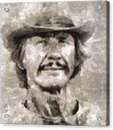 Charles Bronson, Actor Acrylic Print