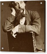 Charles Dickens Acrylic Print