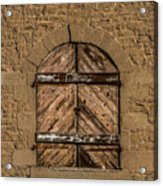 Charles Goodnight Barn Doors Acrylic Print