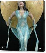 Charles Hall - Creative Arts Program - Full Moon Acrylic Print