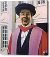 Charles Harpum Receiving Doctorate Of Law Acrylic Print