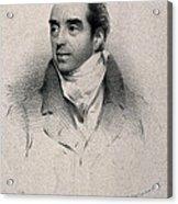 Charles Hatchett, English Chemist Acrylic Print