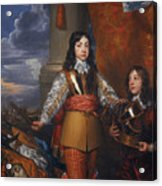 Charles II - King Of Scots And King Of England Acrylic Print