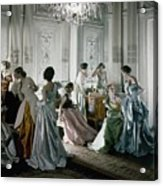 Charles James Gowns Acrylic Print