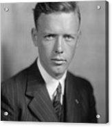 Charles Lindbergh 1902-1974 American Acrylic Print by Everett