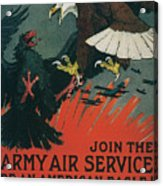 Join The Army Air Service Acrylic Print