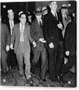 Charles Lucky Luciano In Center Acrylic Print