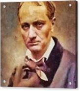 Charles Pierre Baudelaire, Literary Legend Acrylic Print