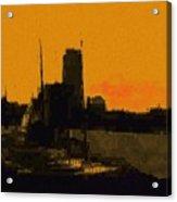 Charles River 1967 Acrylic Print