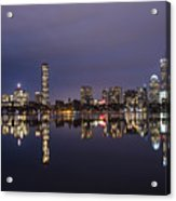Charles River Clear Water Reflection Acrylic Print