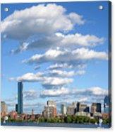 Charles River Cloud Stack Boston Ma Acrylic Print