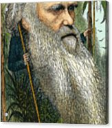 Charles Robert Darwin Acrylic Print