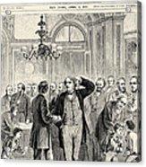 Charles Sumner (1811-1874) Acrylic Print by Granger