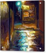 Charleston Alley Acrylic Print