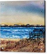 Charleston At Sunset Acrylic Print