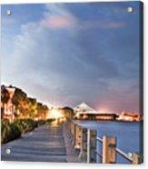 Charleston Battery Photography Acrylic Print by Dustin K Ryan