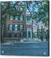 Charleston By Moonlight Acrylic Print