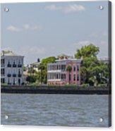 Charleston By The Sea Acrylic Print