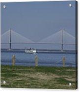 Charleston Ferry Ride Acrylic Print