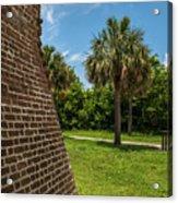 Charleston Fortification Acrylic Print