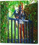 Charleston Gate 1 Acrylic Print