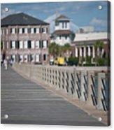 Charleston High Battery Side Walk Acrylic Print