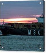 Charleston Port Acrylic Print
