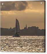 Charleston Sailing Acrylic Print