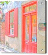 Charleston Sc Catfish Row Acrylic Print