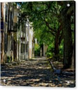 Charleston Side Street Acrylic Print