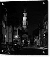 Charleston South Carolina 1980's Acrylic Print