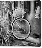 Charleston Street Bike Acrylic Print
