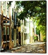 Charleston Streets 2 Acrylic Print