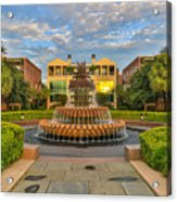 Charleston Welcomes You Acrylic Print