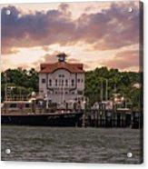 Charleston Wharf Acrylic Print