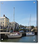 Charlestown Harbour Cornwall Acrylic Print