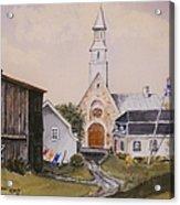 Charlevoix Quebec Acrylic Print