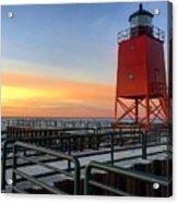 Charlevoix South Pier Lightstation Acrylic Print