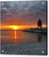 Charlevoix Sunset Acrylic Print