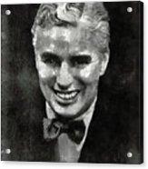 Charlie Chaplin Hollywood Legend Acrylic Print