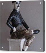 Charlie Chaplin Acrylic Print