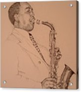 Charlie Parker Acrylic Print
