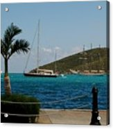 Charlotte Amalie Harbor Acrylic Print