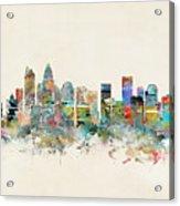 Charlotte City Acrylic Print