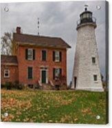 Charlotte-genesee Lighthouse Acrylic Print